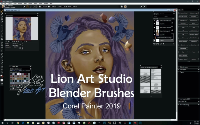 DigitalArt – Lion Art Studio